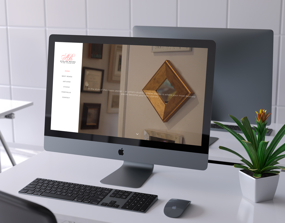 Atlier Renee Fine Framing Website