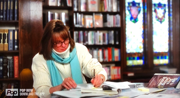 Diane Keaton at the Library
