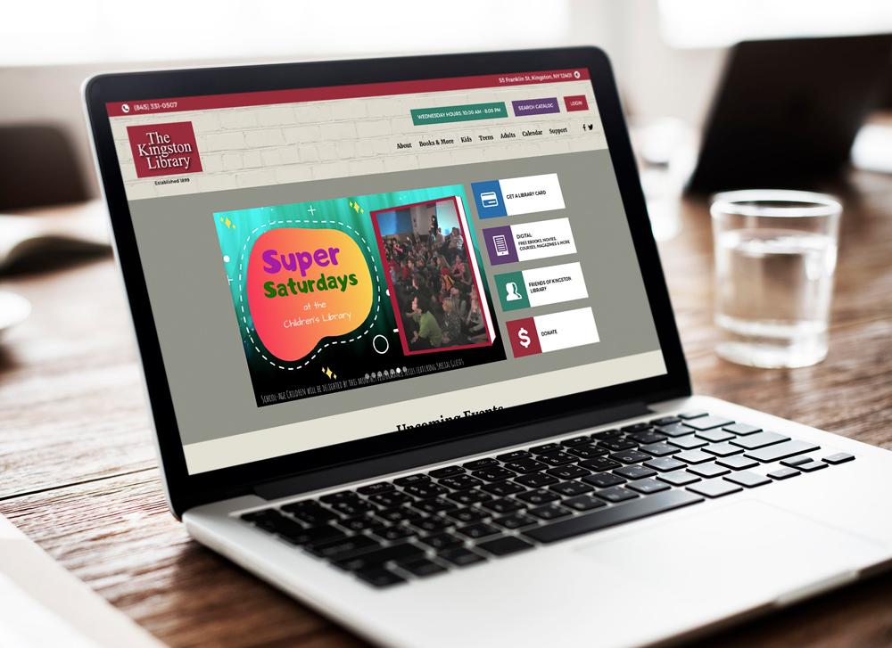 Kingston Library Website