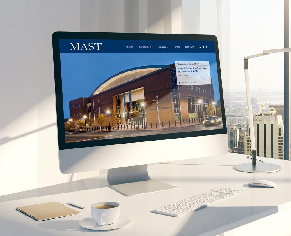 MAST Construction Website