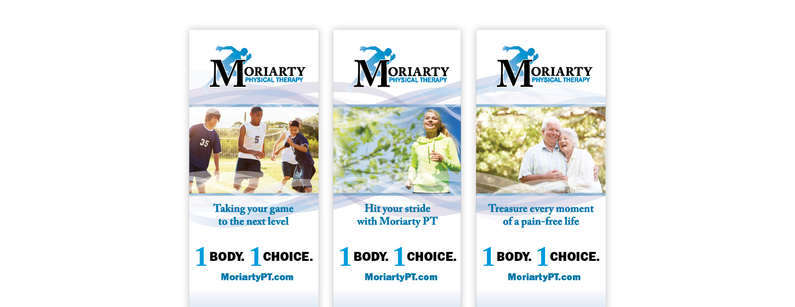 Moriarty Physical Therapy - Katy Dwyer Design