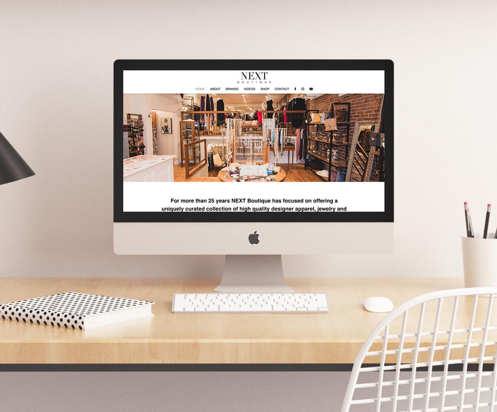 Next Boutique Website