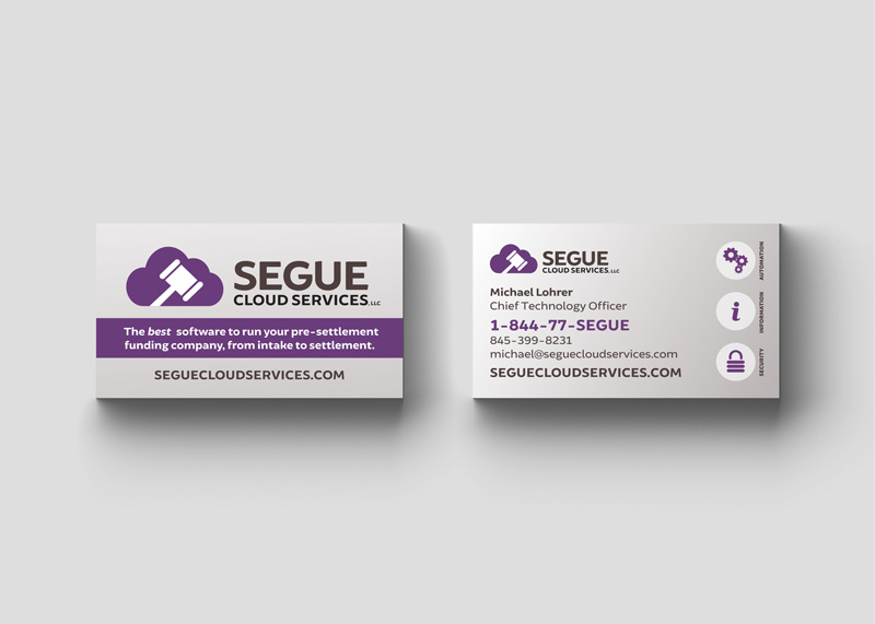 Business Cards for Segue Cloud Services