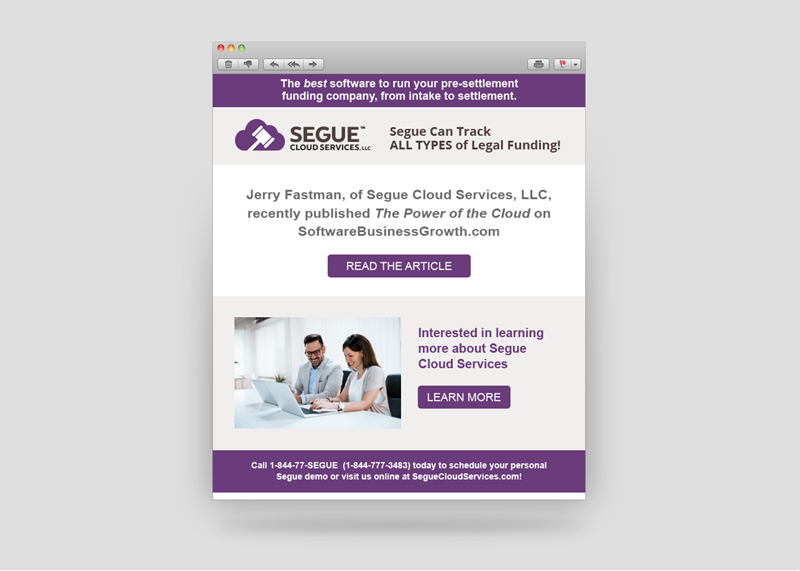 Email Marketing for Segue Cloud Services