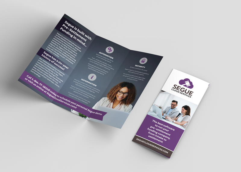 Tri-Fold Brochure for Segue Cloud Services