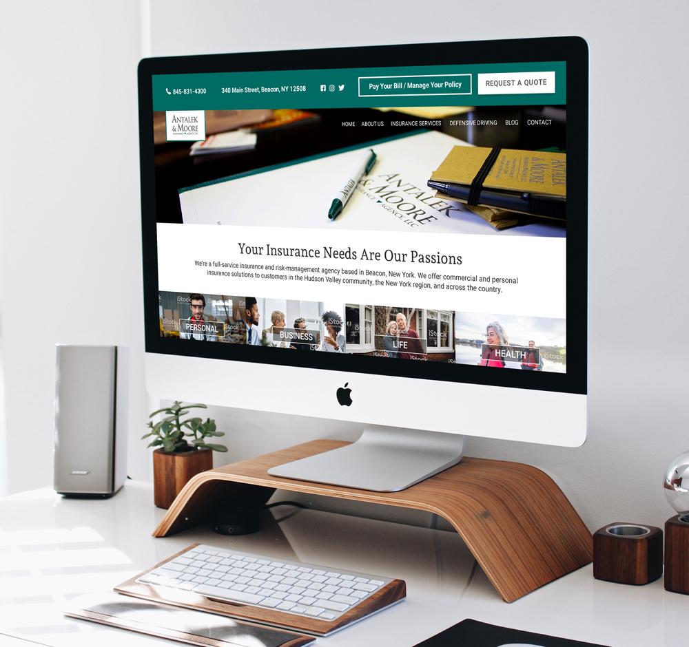 Antalek and Moore Insurance Agency Website