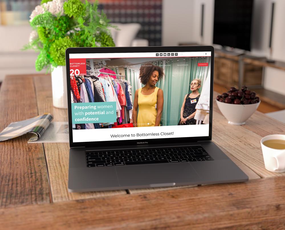 Bottomless Closet Website
