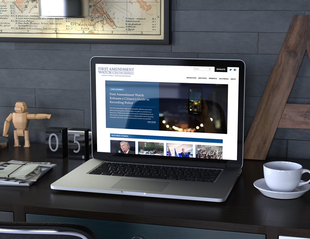 First Amendment Watch Website