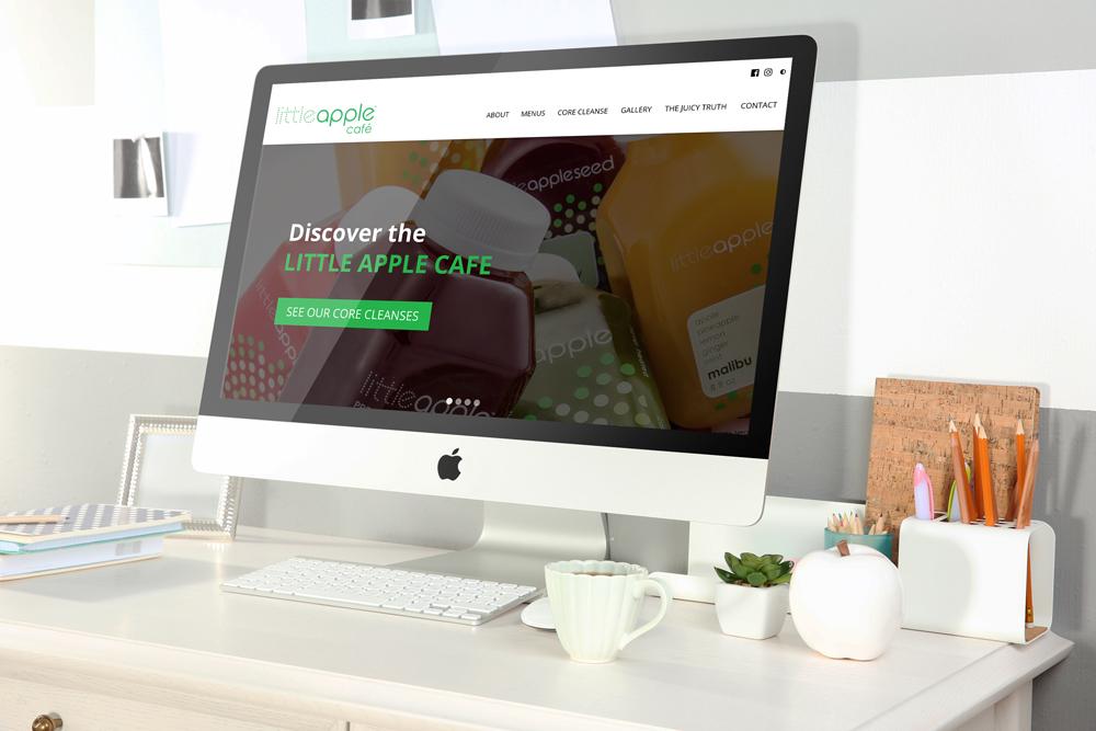 Little Apple Café Website