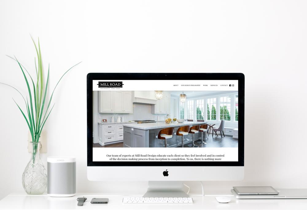 Millroad Design Website