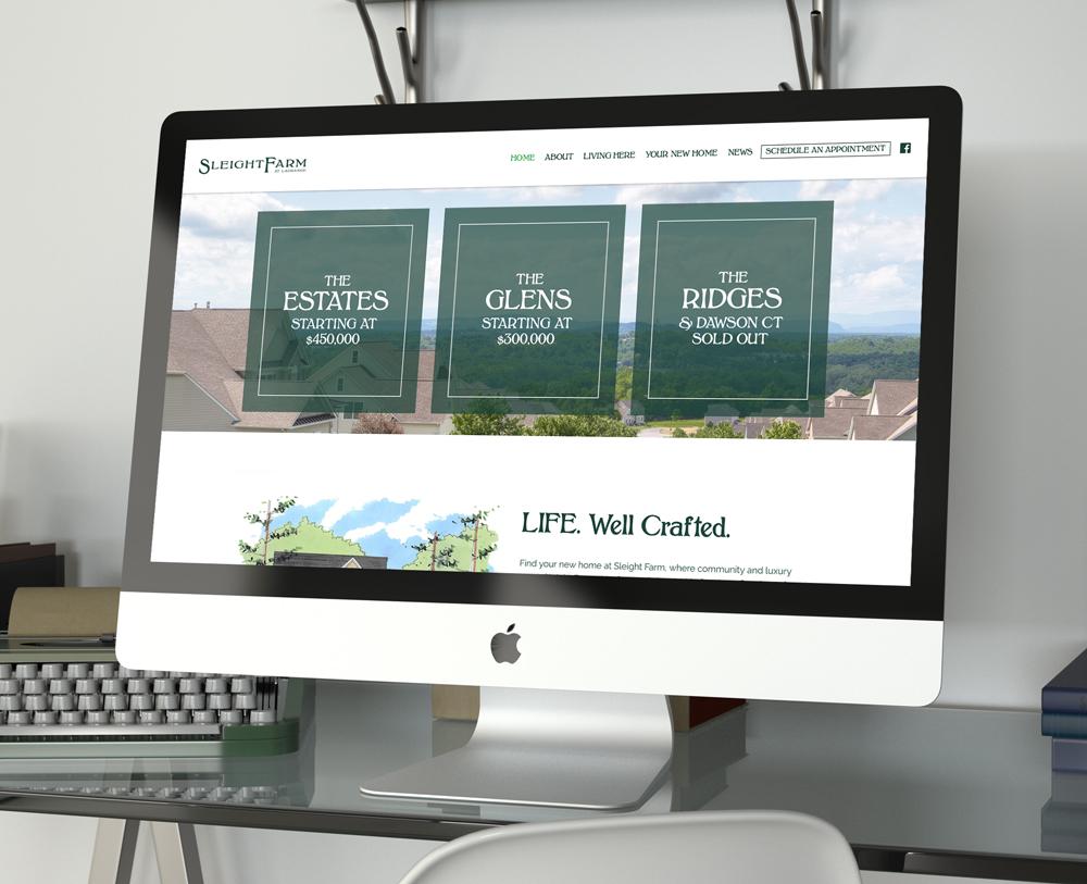 Sleight Farm Website