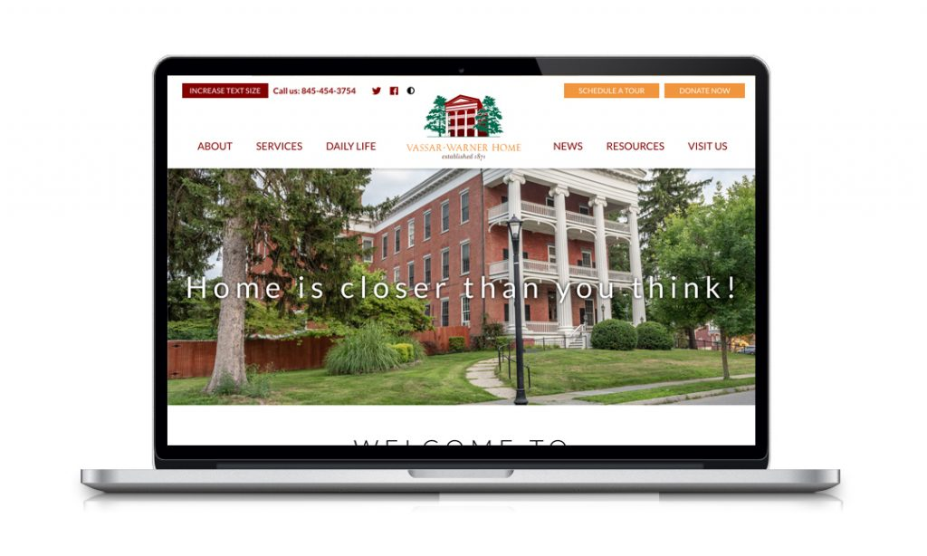 Vassar-Warner Home Website