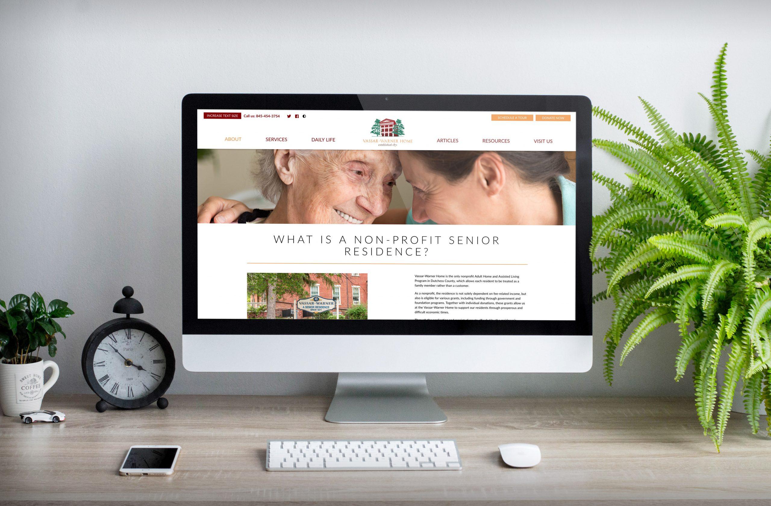 Vassar-Warner Home Website